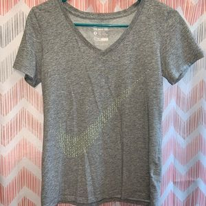 Two Nike Dri-fit tee shirts
